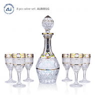 Alibambah Botol Kaca Set / Glass Wine Decanter Set - ALB-001G