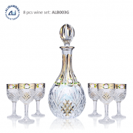 Alibambah Botol Kaca Set / Glass Wine Decanter Set - ALB-003G