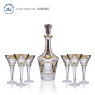 Alibambah Botol Kaca Set / Glass Wine Decanter Set - ALB-004G