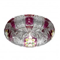 Alibambah Asbak Kaca Unik / Glass Ashtray - ALB-71-622001P (15,5 cm)