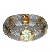Alibambah Asbak Kaca Unik / Glass Ashtray - ALB-71-620001 (18,5 cm)