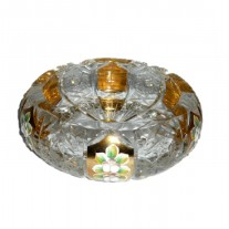 Alibambah Asbak Kaca Unik / Glass Ashtray - ALB-71-622000G (15,5 cm)