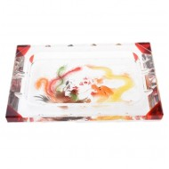 Alibambah Asbak Kaca Unik / Glass Ashtray - ALB-CFX-300-DP (29,5 cm)
