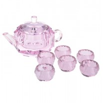 Alibambah Tea Set Pajangan / Dekorasi / Decoration - ALB-TK-Pink