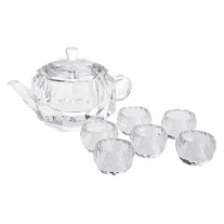 Alibambah Tea Set Pajangan / Dekorasi / Decoration - ALB-TK-Putih