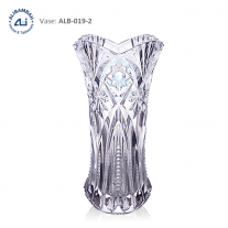 Alibambah Vas Bunga Kaca - ALB-019-2 (30 cm)