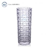 Alibambah Vas Bunga Kaca - ALB-040-1 (25 cm)