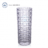 Alibambah Vas Bunga Kaca - ALB-040-2 (30 cm)