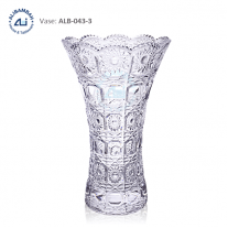 Alibambah Vas Bunga Kaca - ALB-043-3 (30 cm)