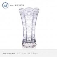 Alibambah Vas Bunga Kaca - ALB-V0726 (23,5 cm)