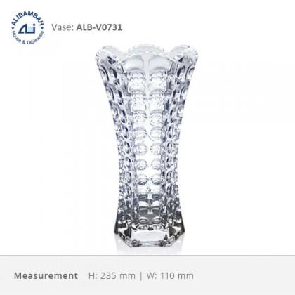 Alibambah Vas Bunga Kaca - ALB-V0731 (23,5 cm)