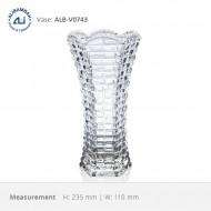Alibambah Vas Bunga Kaca - ALB-V0743 (23,5 cm)