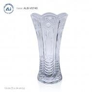 Alibambah Vas Bunga Kaca - ALB-V0740 (24 cm)