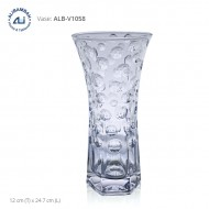 Alibambah Vas Bunga Kaca - ALB-V1058 (24,7 cm)
