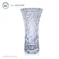 Alibambah Vas Bunga Kaca - ALB-V1059 (24,7 cm)